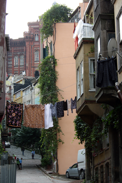 Barrio popular de Estambul