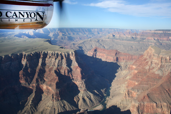 Tour en avioneta por el Grand Canyon