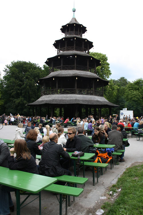 biergarten munich
