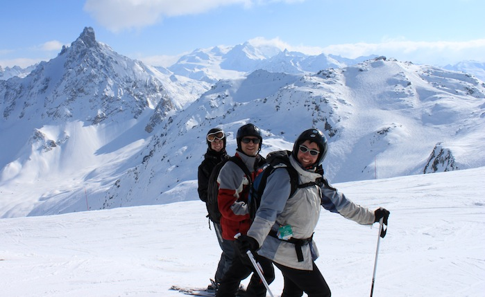 Pistas de Courchevel