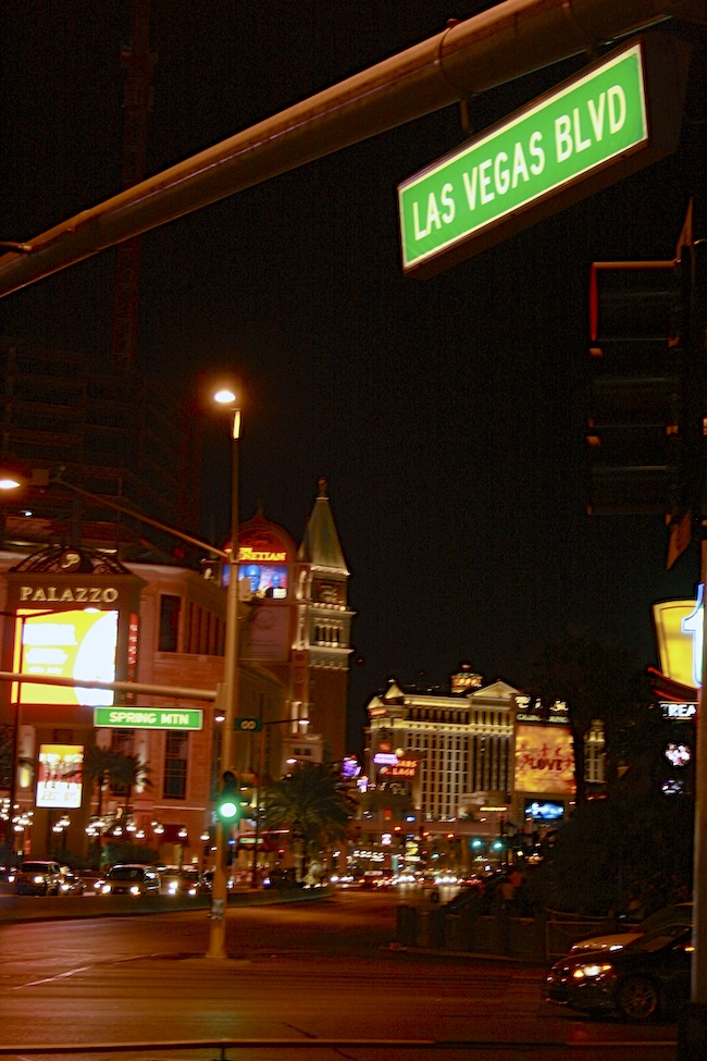 vegas boulevard strip