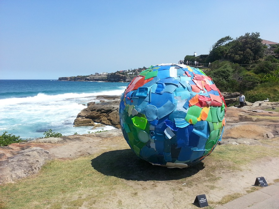 Sculptures by the sea Bondi