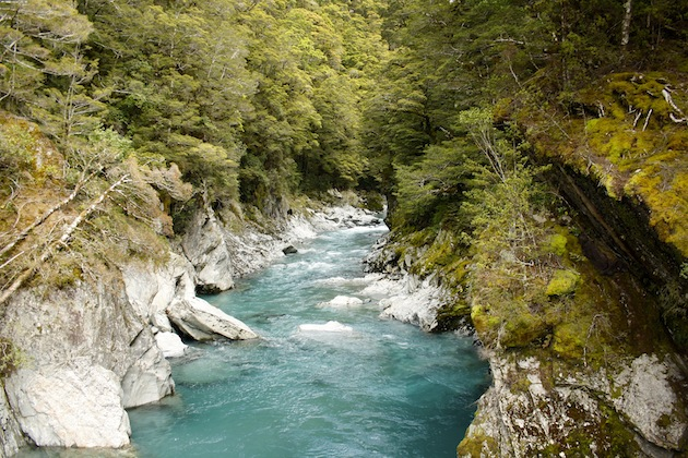Blue pools, Haast Pass