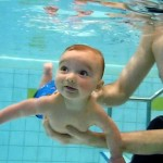 Baby_diving