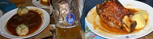 Comida tipica Bavaresa