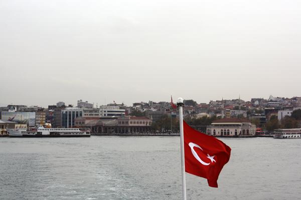 Istanbul ferri de Asia a Europa