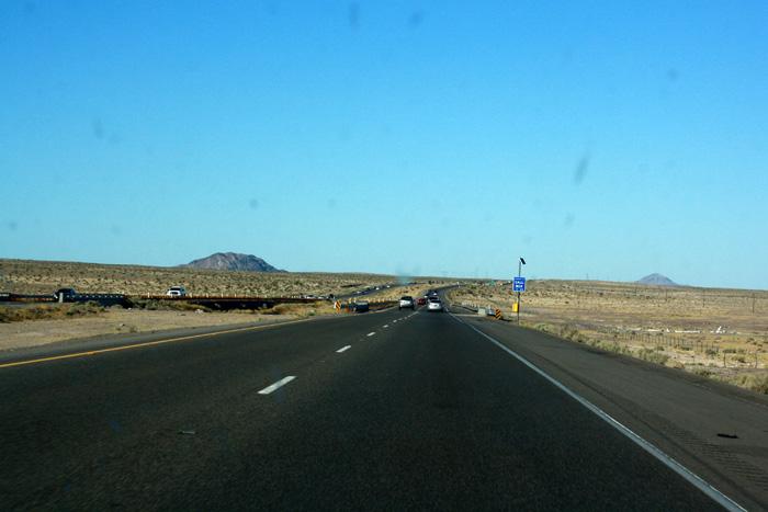 Autopista del desierto Mojave