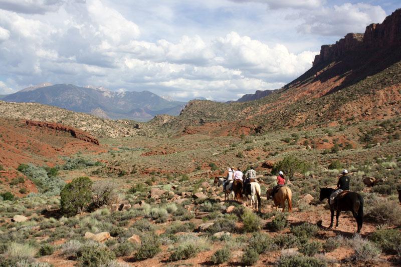 tours guiados a caballo por utah