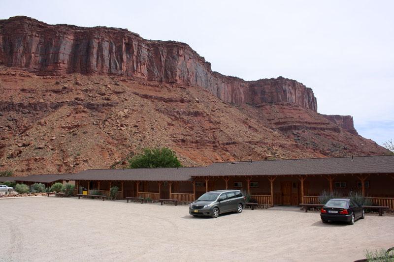 donde alojarse en moab, utah