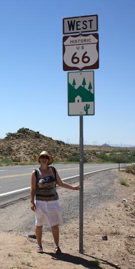 Cartel Ruta 66