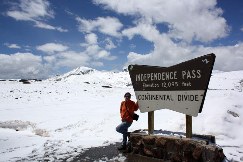 Independence Pass cerca de Aspen