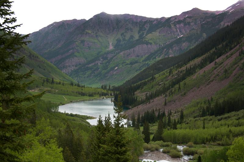 Maroon Lake de Aspen
