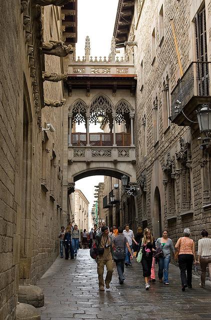 carrer del bisbe