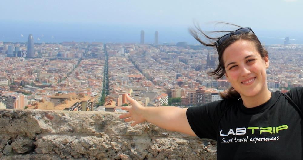 Labtrip Tshirt Barcelona