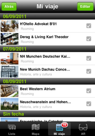 Labtrip App Screenshot 2
