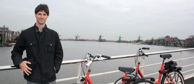 Puente que cruza a Zaanse Schans