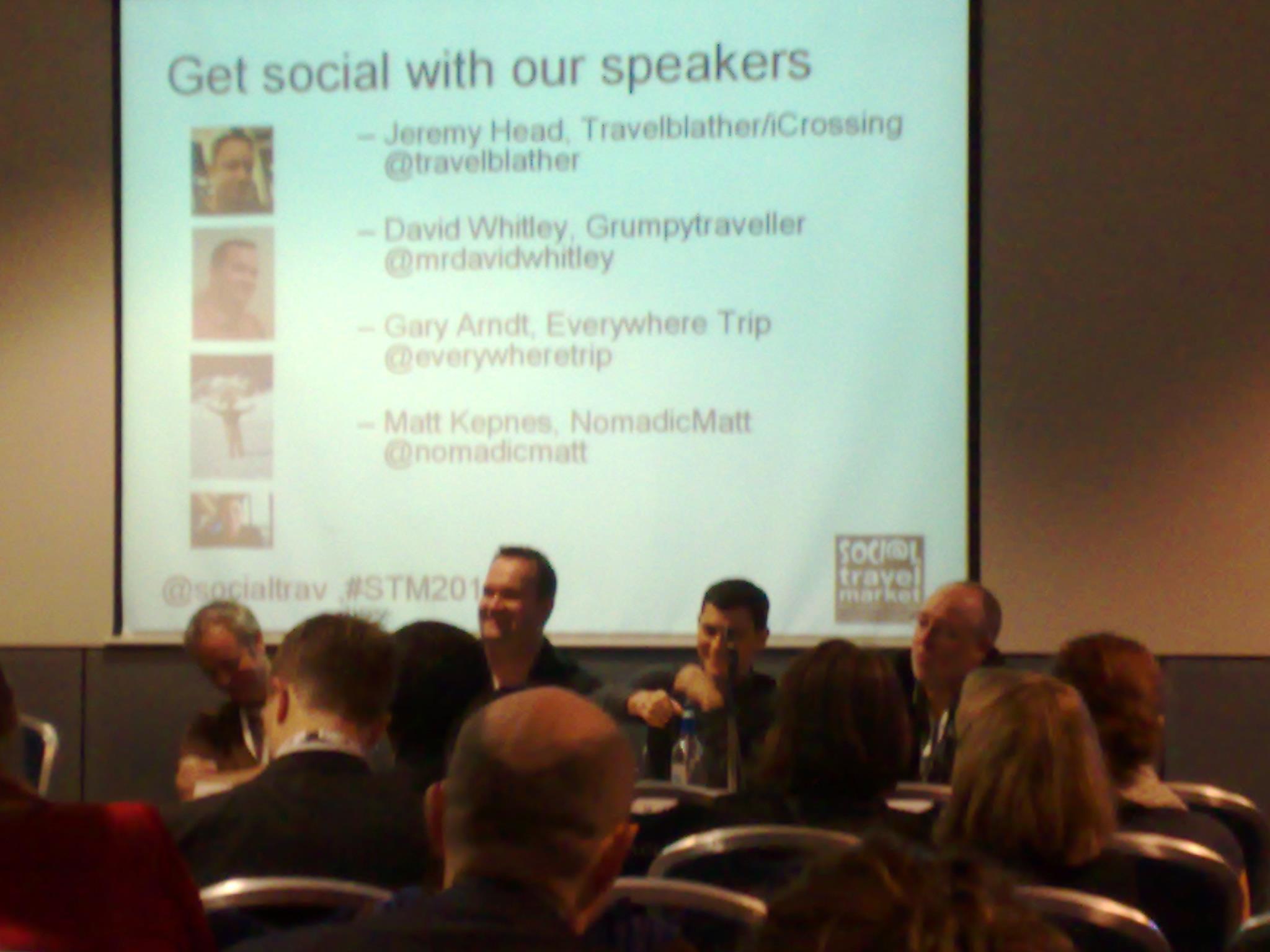 Conferencia Social Media de Turismo