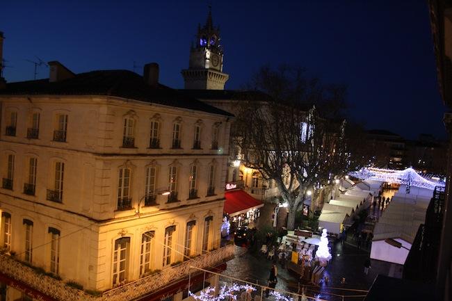 Avignon place de l'horloge