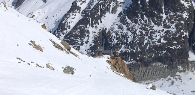 Vallee Blanche Refugio
