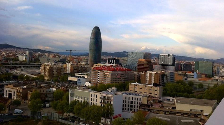vistas zona 22@ torre agbar barcelona