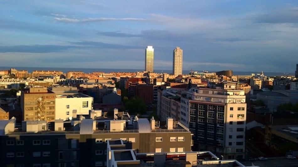 Mejores vistas de Barcelona hacia el mar Torre Mapfre
