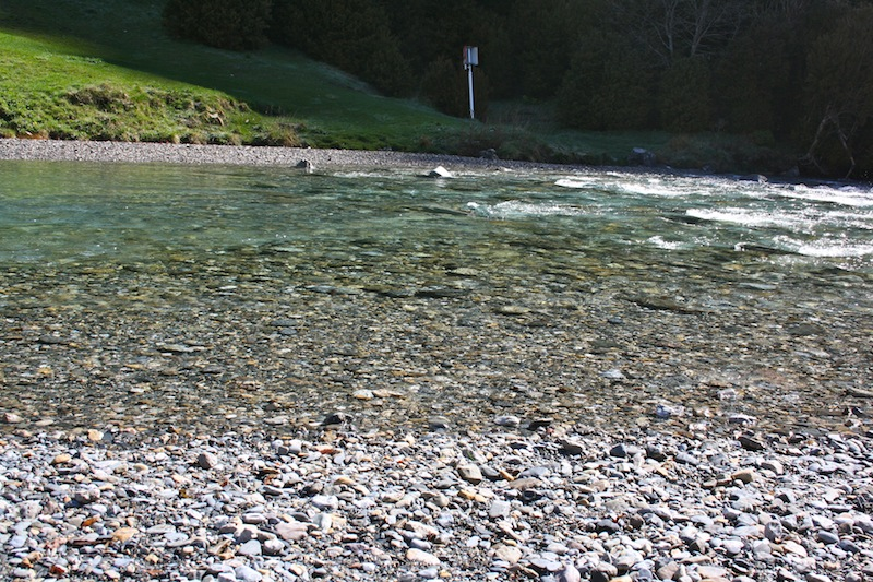 rio agua cristalina bujaruelo