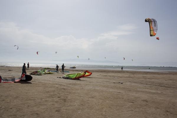 kite surf en el Delta del Ebre