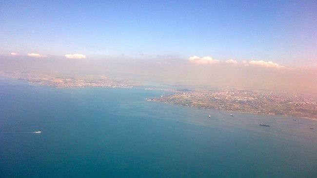 istanbul desde el aire