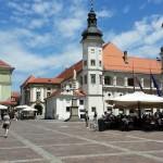 Plaza del castillo de Maribor