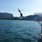 Un baño en Bled