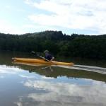 en kayak por el río Drava, Maribor