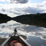 en canoa por el río Drava, Maribor