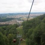 Subiendo a Pohorje, la montaña de Maribor
