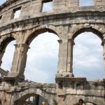 anfiteatro de Pula (istria)