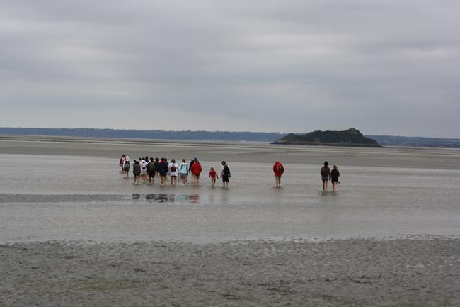 Mont saint michel mareas