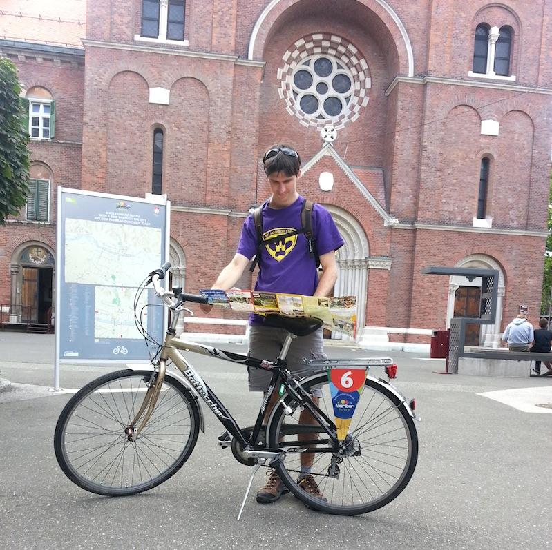 Tour en bici por Maribor, alquiler de bicis en Oficina Turismo