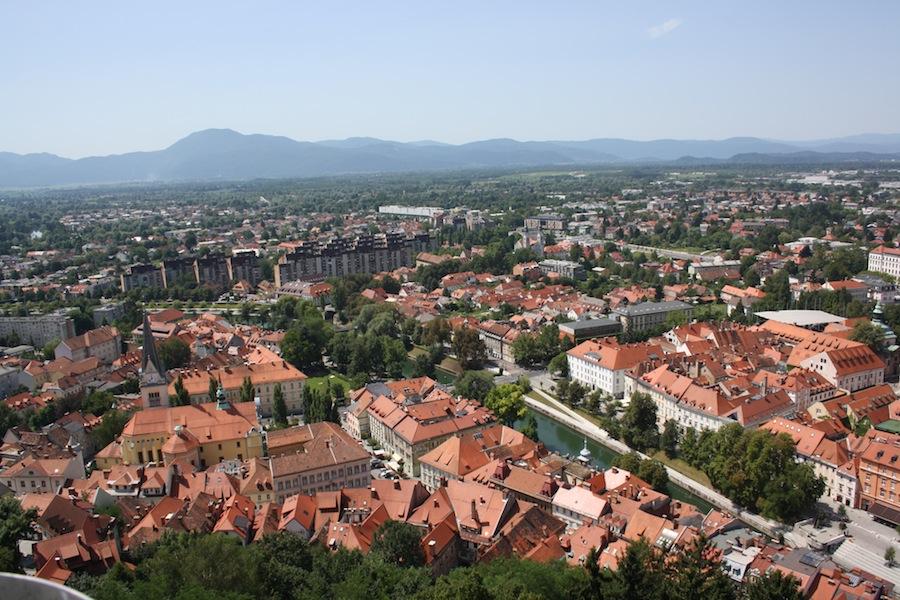 vistas desde castillo liubliana