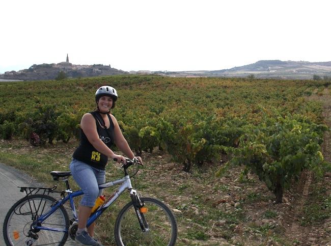 ruta bici viñedos rioja
