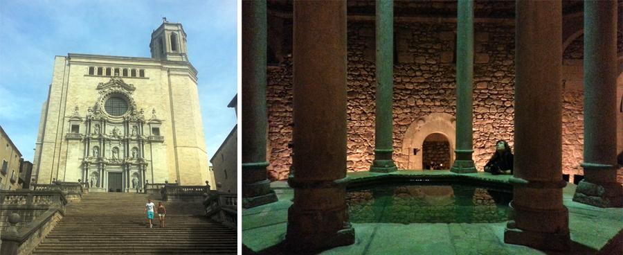 girona catedral i banys arabs