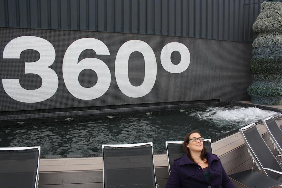 terraza 360 hotel barcelo raval
