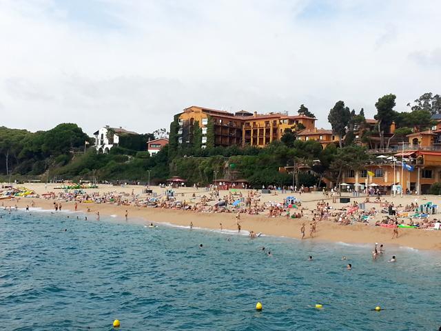 playa de fenals lloret de mar hotel rigat