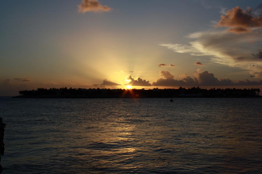 puesta de sol key west