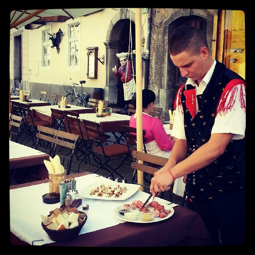 comida liubliana tour