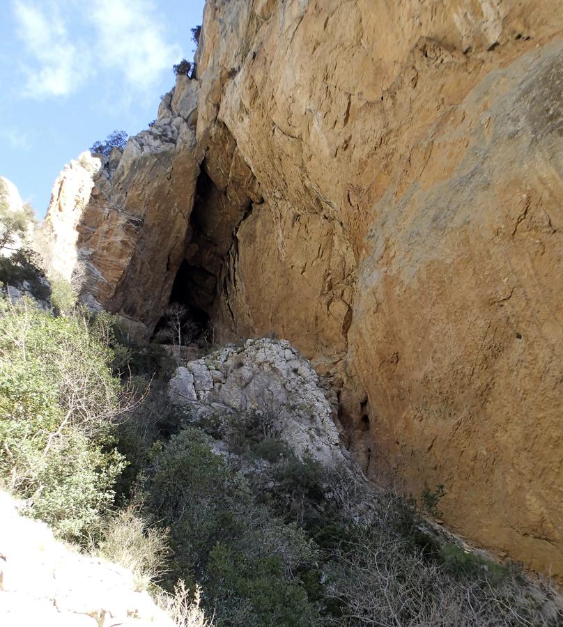 congost mont rebei cueva