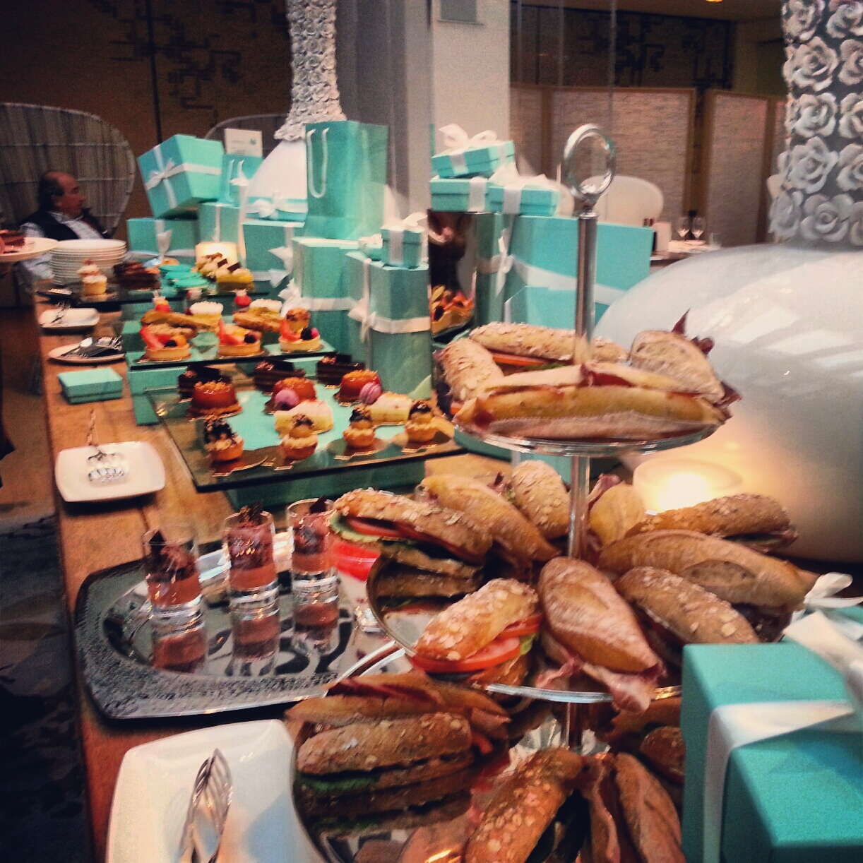 buffet pastas y te afternoon tea mandarin