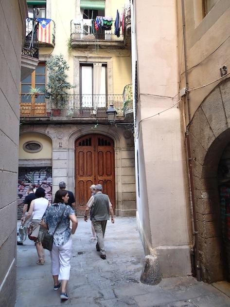 Barrio judio barcelona