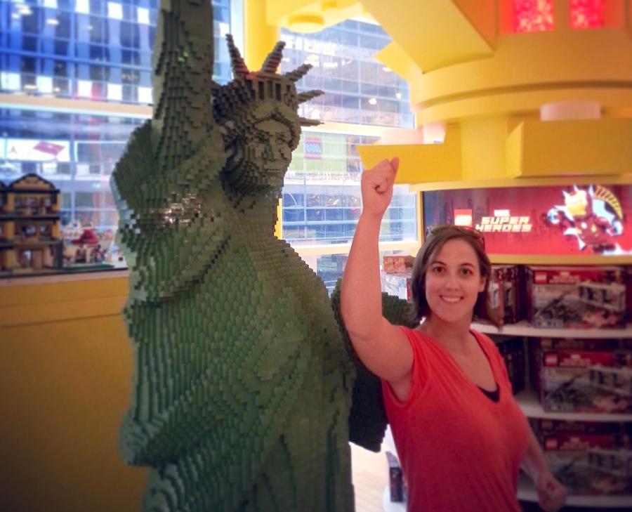 statue liberty lego