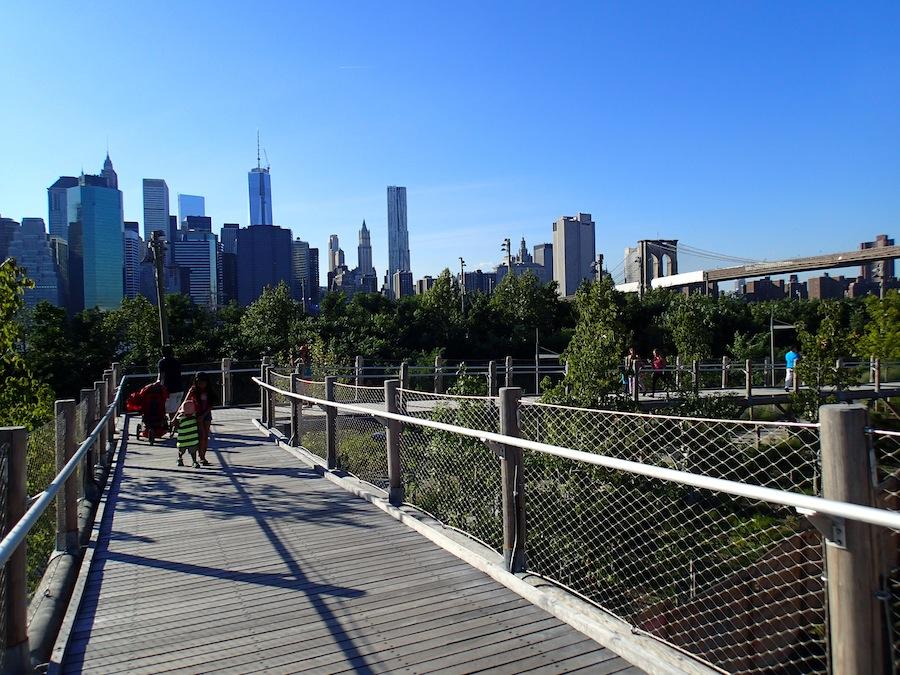 pasarela brooklyn promenade