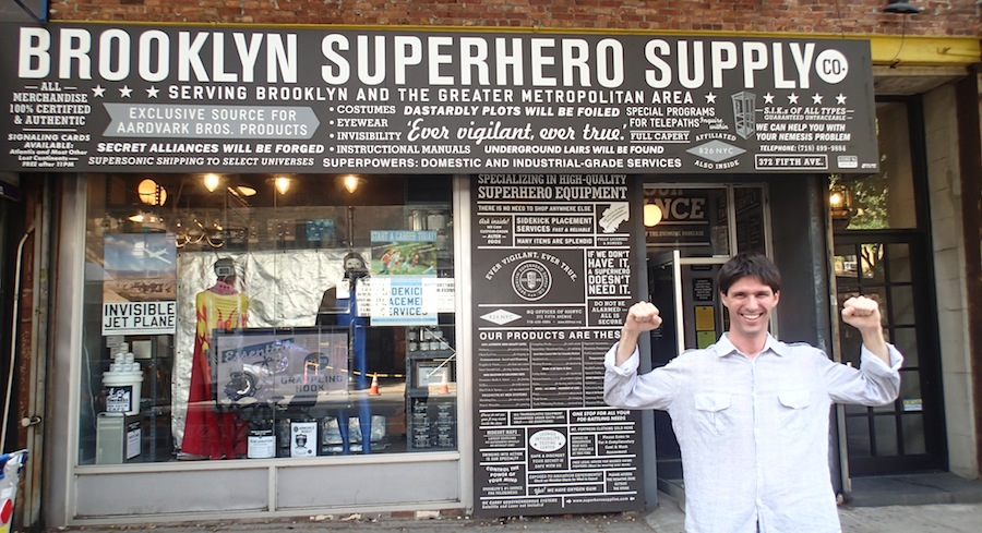 brooklyn supperhero supply