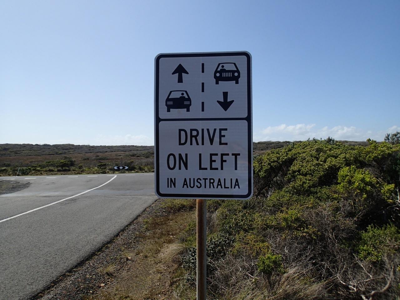 drive in australia